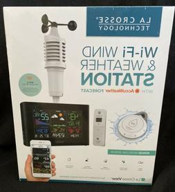 La Crosse Wi-Fi Wind & Weather Station with AccuWeather Fore