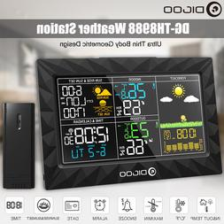 DIGOO DG-TH8988 Color Wireless Weather Station Barometer The