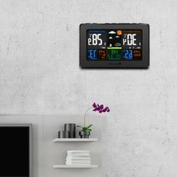 Houzetek LCD Digital Wireless Auto Weather Station Temperatu