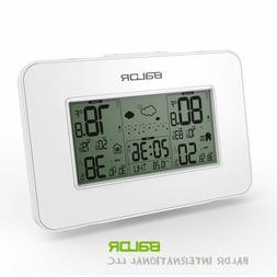 Baldr LCD Weather Station Alarm Clock Indoor / Outdoor Humid