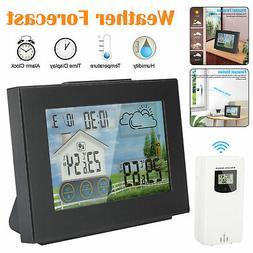 LCD Wireless Weather Station Remote Sensor Indoor Outdoor Ca