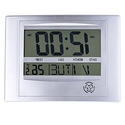 MMdex La Crosse Technology WT-8002U Digital Wall Clock