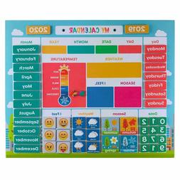 My First Daily Magnetic Calendar | Weather Station for Kids