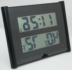 NEW Atomic Time ET-31U Wall Clock Weather Station Digital Te