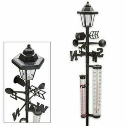 NEW Ideaworks Solar Weather Station - 5ft. tall / thermomete