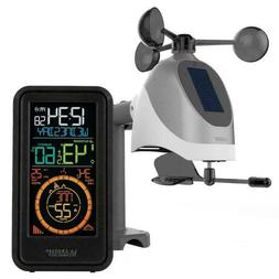 New! La Crosse S81120 Wireless Weather Station with Temperat