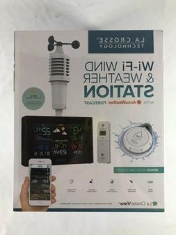 New La Crosse Technology WiFi Wind and Weather Station with