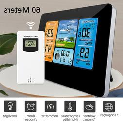 New Wireless Outdoor Weather Station Digital Indoor Home The