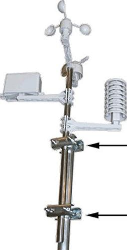 Ambient Weather P2P2 Mast to Mast Mounting Kit