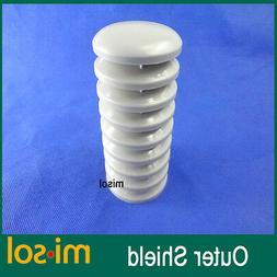 plastic outer shield for thermo hygro sensor, spare part for