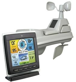 AcuRite Pro 5-in-1 COLOR Display Weather Station with Wind a