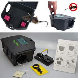 GPTHOM Rat Bait Station and Snap Trap for Mouse