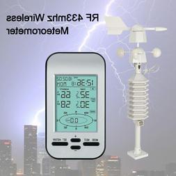 RF 433mhz Wireless <font><b>Weather</b></font> <font><b>Stat