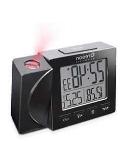Oregon Scientific Travel Projection Atomic Clock with Indoor