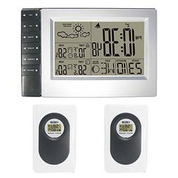 DYKIE RS8718E3-2 Wireless Weather Station with 2 sensors Dig