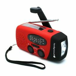 RunningSnail Emergency Hand Crank Self Powered AM/FM NOAA So