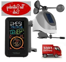 La Crosse S81120 Wireless Weather Station with Wind Temperat