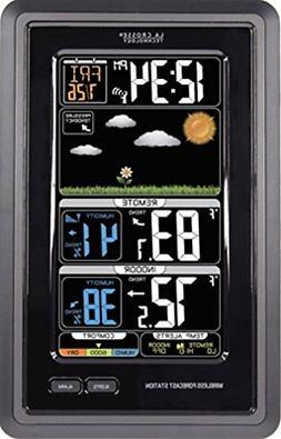 La Crosse Technology S88907 Vertical Wireless Color Forecast