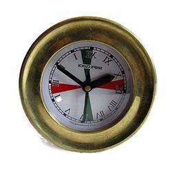 Brass Blessing SHIP'S Nautical Clock – Marine RADIO ROOM C