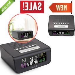 SmartSet Alarm Clock Radio with AM/FM Radio Dimmer Sleep Wea