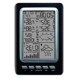 Julitech Solar Weather Station Digital Temperature Monitor I