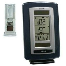 LA CROSSE TECHNOLOGY SOLAR WIRELESS WEATHER STATION & SENSOR