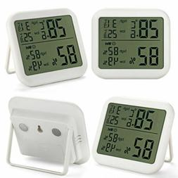 Stand Wall Digital Indoor Humidity Hygrometer Thermometer Ho
