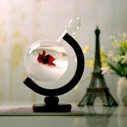 Storm Glass Bottle Creative Globe-Shaped Desktop Weather Sta