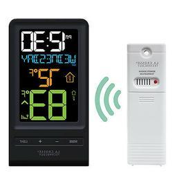 T85258 La Crosse Technology Wireless Color Temperature Stati
