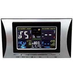 Temperature Instruments - Wireless Lcd Weather Station Clock