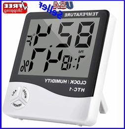 Thermometer Indoor Digital LCD Hygrometer Temperature Humidi