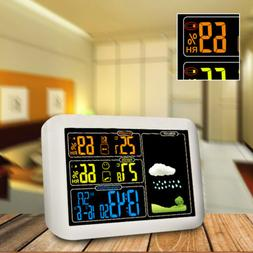 Wireless Weather Station Forecast Thermometer Hygrometer Ind
