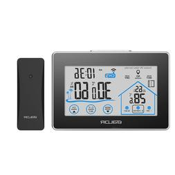 BALDR LCD Touch Screen Weather Station, Dark Grey/Black