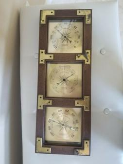 VTG Springfield Instruments WEATHER STATION Thermometer Baro