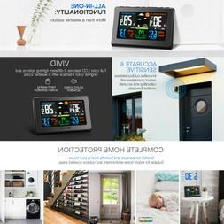 Houzetek W001 Wireless Weather Station LED Thermometer Weath