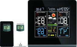 Thinkgizmos Wall-mountable Wireless Weather Station with Col