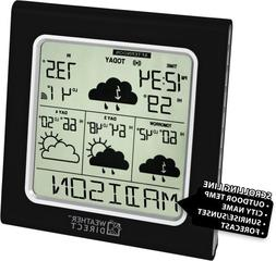 La Crosse Technology WD-3103U-CP 4-Day Accurate Weather Ther