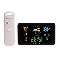 Acurite Digital Weather Forecaster with Alarm Clock and USB
