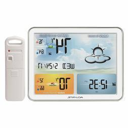 AcuRite 02081M Weather Station with Jumbo Display Atomic Clo