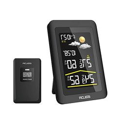 BALDR Color Display Digital Wireless Weather Station Big LCD