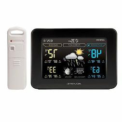 AcuRite Color Weather Station with Forecast Temperature Humi