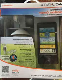 Pro Color Weather Station with Wind Speed