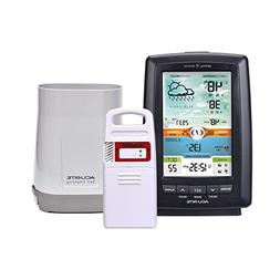 AcuRite 01021M Color Weather Station with Rain Gauge & Light