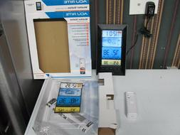 AcuRite Weather Station Color Display, Atomic Clock, Wireles