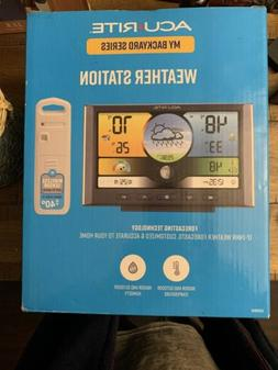 Acurite Weather Station Color Display Wireless Sensor Electr