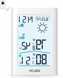 Slopehill Weather Station Indoor Outdoor Thermometer Hygrome