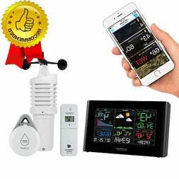 Weather Station Professional Remote Monitoring LCD WiFi + BO