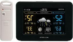AcuRite 02027 Color Weather Station with Temperature and Hum