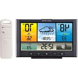 digital wireless weather station with color display