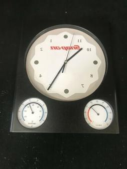 Weather Station Wall Clock SnapOn